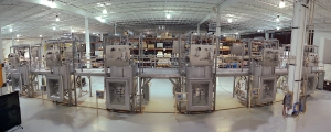 Santitary Process Module in a Biopharmaceutical Facility