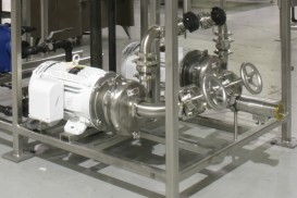 Waukesha Sanitary Centrifugal Pumps in a Water for Injection Application