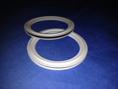 Teflon Envelope Gaskets are available with either EPDM or FKM Cores