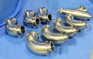 Custom Jacketed Sanitary Fittings