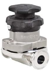The ITT Pureflo Envizion Sanitary Diaphragm Valve
